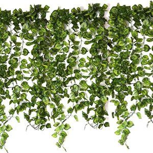 Noverlife 10PCS Artificial Greenery Hanging Ivy Vi